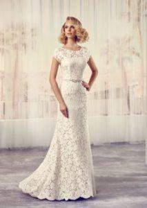 horgolt csipke menyasszonyi ruha
