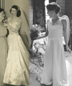 menyasszonyi ruha átalakítása