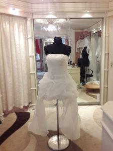 Menyasszonyi ruha átalakítás – Hogyan készítsünk egyenes dekoltázsból szív formájút?