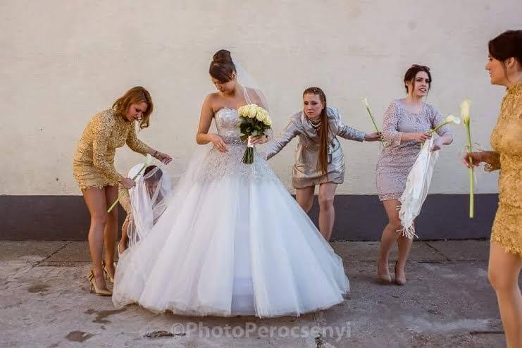 Egy menyasszony és az én történetem.