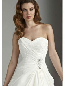menyasszonyi ruha anyag